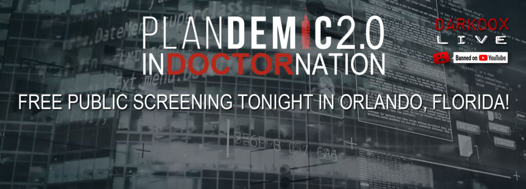 FREE Plandemic 2.0 Screening TONIGHT!